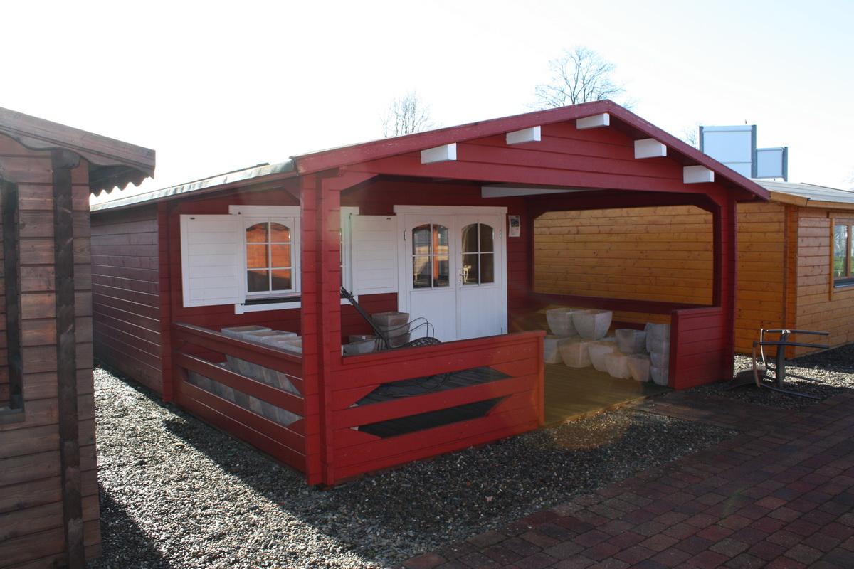 gartenhaus carola 5x4m 3m terrasse. Black Bedroom Furniture Sets. Home Design Ideas