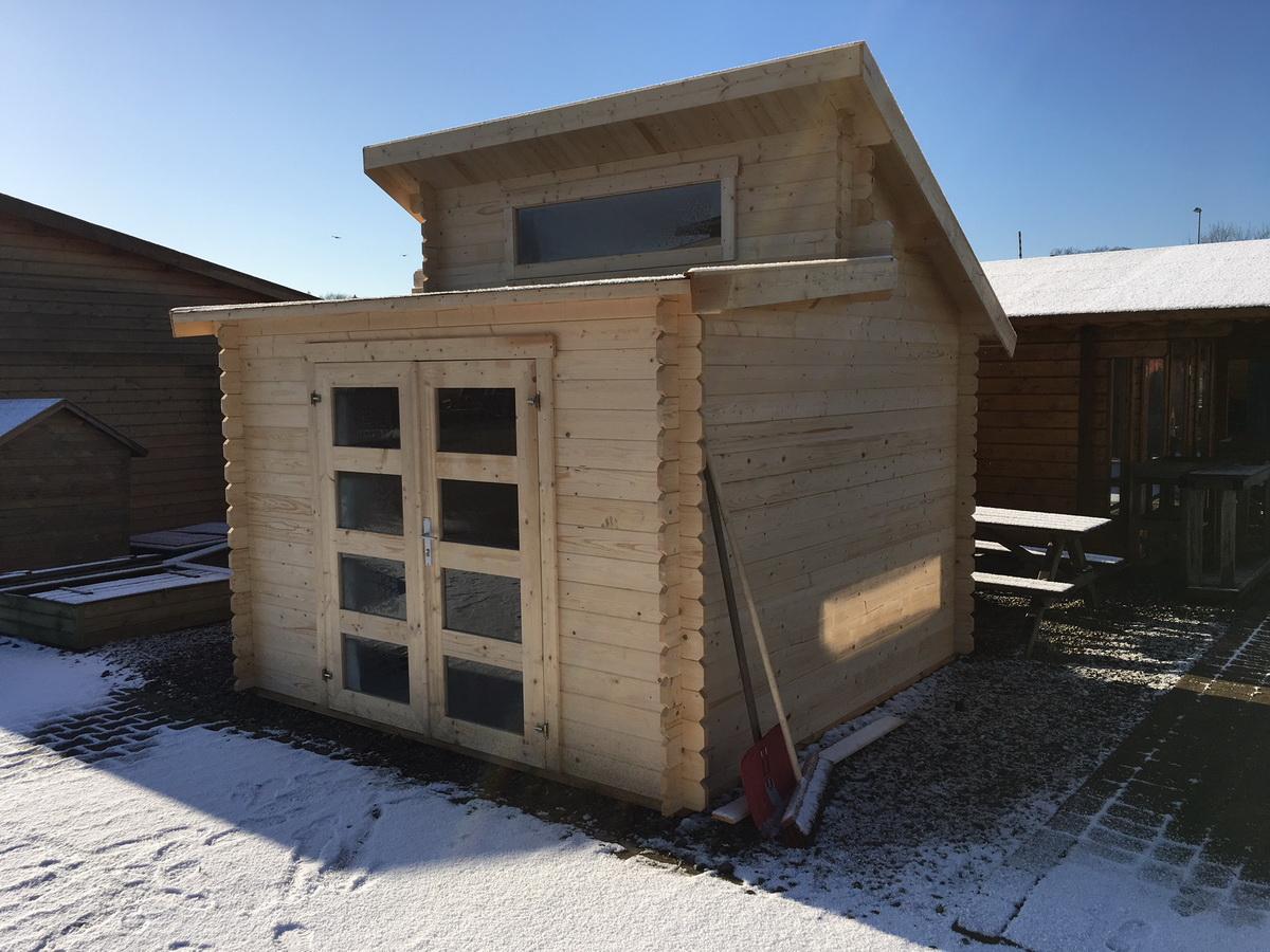 gartenhaus 28mm mit fu boden 300x300cm 999 00. Black Bedroom Furniture Sets. Home Design Ideas
