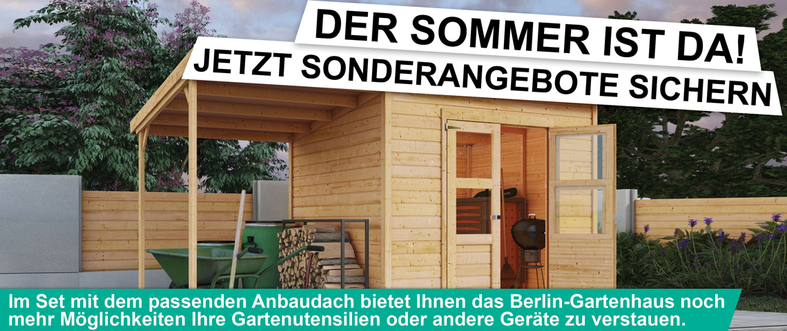Raters Gartenhaus aktion gartenhaus berlin