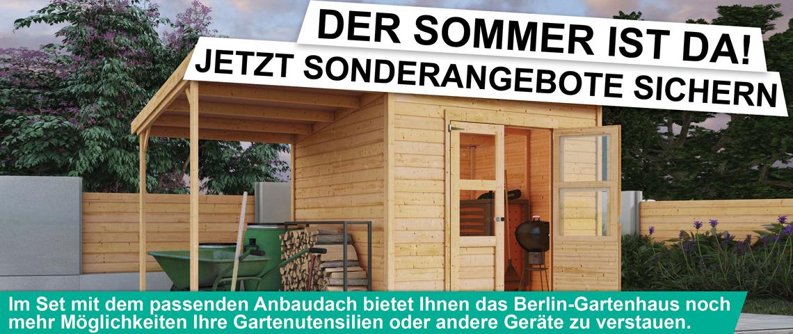 aktion gartenhaus berlin. Black Bedroom Furniture Sets. Home Design Ideas