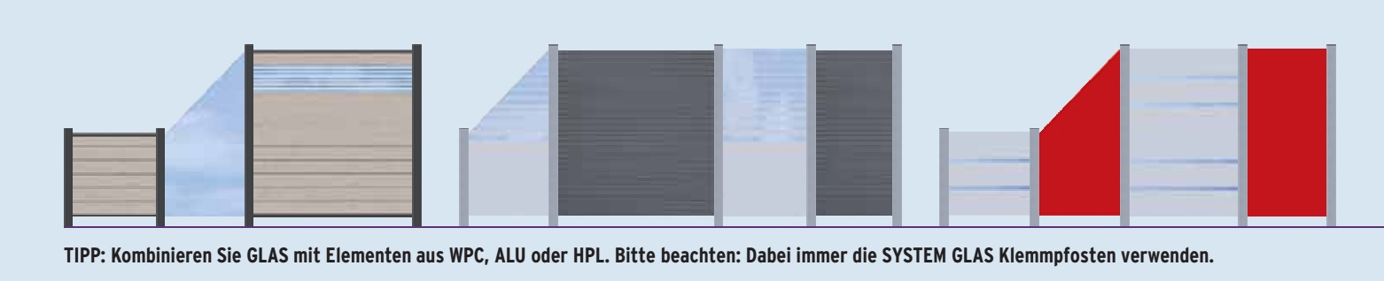 sichtschutz system glas 89 00. Black Bedroom Furniture Sets. Home Design Ideas